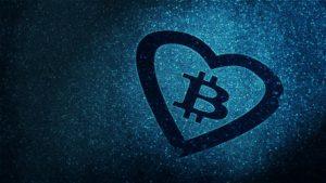 Herz für Bitcoin